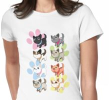 Kittens Womens Fitted T-Shirt
