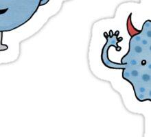The Data of Good & Evil! Sticker