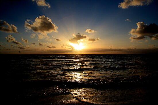 Sun salutation by Christine Oakley