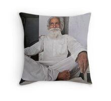 white sage Throw Pillow