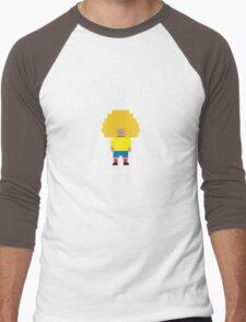 Foot-T 'Big Hair' Men's Baseball ¾ T-Shirt