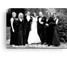 The Formal Family Canvas Print
