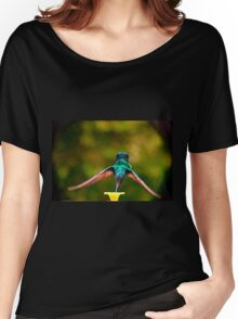 Do Not Watch Me While I Am Eating Women's Relaxed Fit T-Shirt