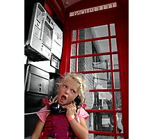 Chatterbox Photographic Print
