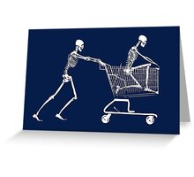 Retail Therapy Greeting Card