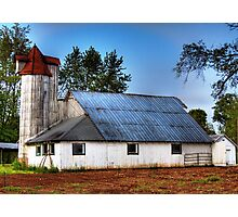 Danville barn Photographic Print