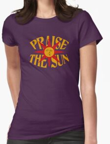 Praise The Sun!  Womens Fitted T-Shirt