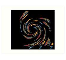 Whirl Wind World Art Print