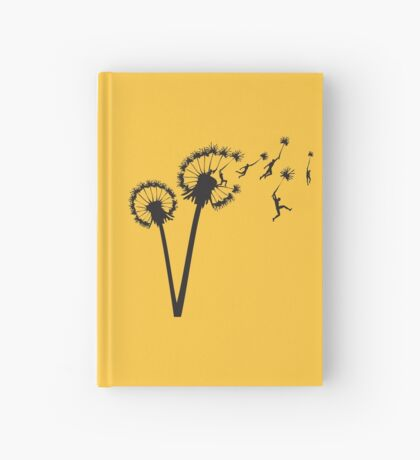 Dandylion Flight Hardcover Journal