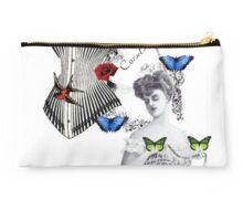 Victorian butterflies Studio Pouch