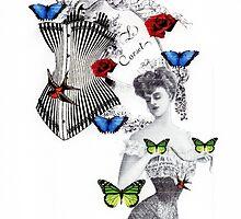 Victorian butterflies by alittlebirdsaid
