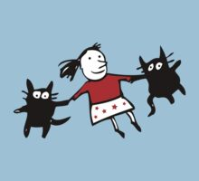 Happy Jumping Cats Kids Clothes
