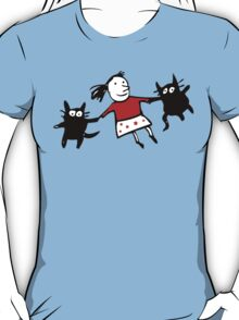 Happy Jumping Cats T-Shirt