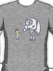Robot meets boy T-Shirt
