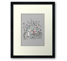Transport City Framed Print
