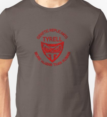 Tyrell Genetic Replicants Unisex T-Shirt