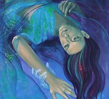 """Touching the ephemeral"" - from ""Whispers"" series by dorina costras"