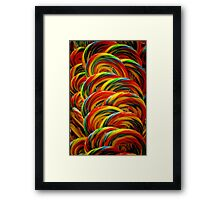Lollipops Framed Print