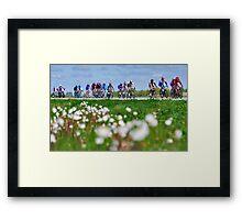 Giro d'Italia in Zeeland Framed Print