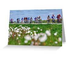 Giro d'Italia in Zeeland Greeting Card