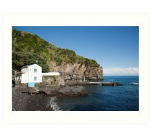 Caloura, Azores islands Art Print