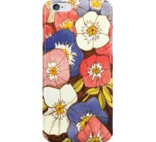 Petunias iPhone Case/Skin