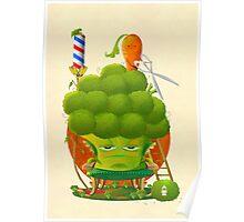Broccoli Haircut Poster