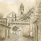 La Porte des Réformés - Brantôme, France by ian osborne
