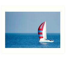 Sail ahoy! Art Print