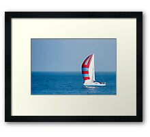 Sail ahoy! Framed Print
