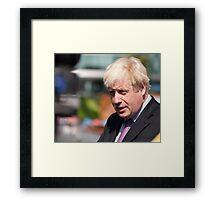 Boris Johnson, mayor of London Framed Print