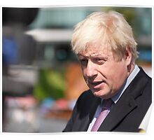 Boris Johnson, mayor of London Poster