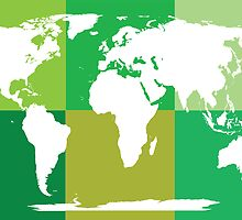World map by hibrida13