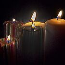 A Candle Loses No Light By Sharing Its Flame IV by Al Bourassa