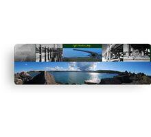 Coffs Harbour Jetty Compilation Canvas Print