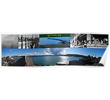 Coffs Harbour Jetty Compilation Poster