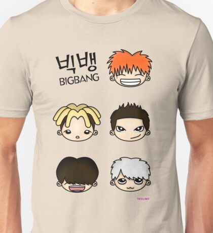 Big Bang Fan Art 1.0 Unisex T-Shirt