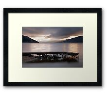 A Loch Ness Sunrise Framed Print