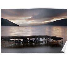 A Loch Ness Sunrise Poster