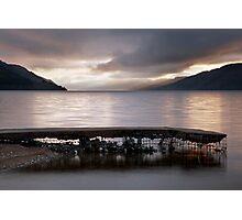 A Loch Ness Sunrise Photographic Print