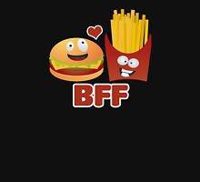 BFF Best Friends Forever Burger And Fries Unisex T-Shirt