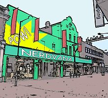 nerdvana waltham cross by IanByfordArt