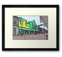 nerdvana waltham cross Framed Print