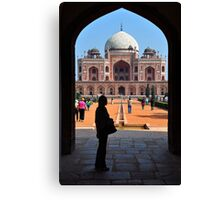 Humayans Tomb Canvas Print