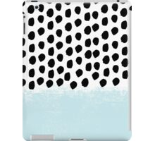 Lolita - Modern mint dots abstract painting minimal design trendy hipster decor dorm office retail  iPad Case/Skin
