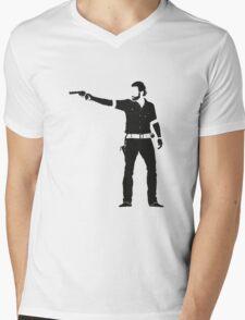 Rick Mens V-Neck T-Shirt