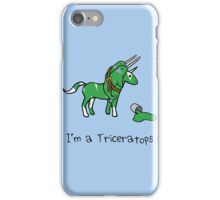 I'm A Triceratops (Unicorn + Narwhals) iPhone Case/Skin