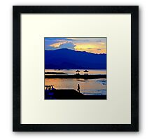 Up and Dawn Framed Print