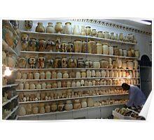 The Alabaster shop west bank Luxor Poster