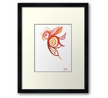 Birderfly Framed Print